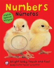 Bright Baby Touch and Feel: Numbers Numeros English-Spanish Bilingual Bebe Listo