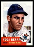1991 Topps Archives 1953 #104 Yogi Berra Yankees (ref 31221)