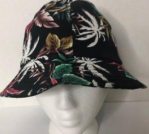 NWT AF Bucket Hat Unisex Caps Plus Tropical Print