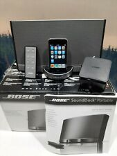 Bose SoundDock Portable Digital Wireless Chargeable Music System Bluetooth w Box