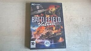 BATTLEFIELD VIETNAM - PC GAME - FAST POST - ORIGINAL & COMPLETE WITH MANUAL
