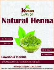 400 gKvaasNatural Henna Powder for Hand Hair and Beard