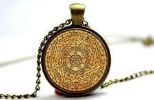 Seal of the Truth of God - Bronze Tone Photo Glass Dome Necklace Pendant Gift