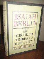 1st Edition Crooked Timber of Humanity Isaiah Berlin First Printing Philosophy