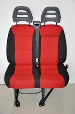 Orig. Doppelsitzbank für Beifahrer Seite Neuwertig Sitz Ducato Boxer Jumper