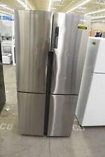 "Haier Hrq16N3Bgs 33"" Stainless Steel Cd French Door Refrigerator Nob #111864"