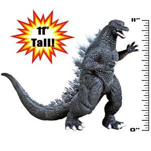 "New Playmates Godzilla (2004) & King Kong Skull Island 11"" Figure Pair"