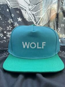 GOLF WANG WOLF GANG HAT CAP [GREEN BLUE] TYLER THE CREATOR OFWGKTA