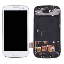 Für Samsung Galaxy S3 i9300 i9305 LCD-Display mit Touchscreen + Rahmen With LOGO