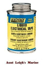 SeaChoice Black Liquid Electrical Tape 4 oz Fast Drying Seal Protect Connections