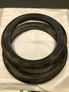 2 Michelin moped tires NOS 2 1/4 x 16 Rapido RARE Puch Motobecane Peugeot Solex