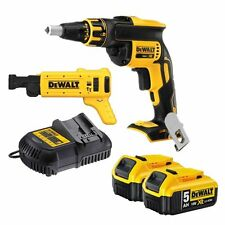 Dewalt DCF620P2K 18v XR Li-Ion Brushless Collated Drywall Screwgun Autofeed