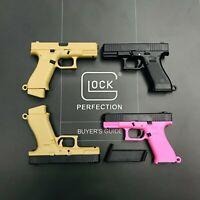 GLOCK Style Realistic Mini Pistol Model Handgun 1/3 Scale 19X G45 KeyChain Gift