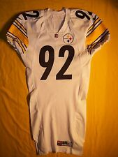 PITTSBURGH STEELERS JASON GILDON 2000 NIKE TEAM ISSUED GAME JERSEY RARE 1YR VERS