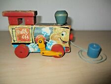 VINTAGE 1949 FISHER PRICE PULL TOY *PUFFY* #444.