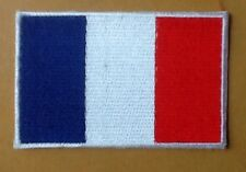 FRANCE FRENCH NATIONAL COUNTRY FLAG BADGE IRON SEW ON PATCH CREST SHIELD EUROPE
