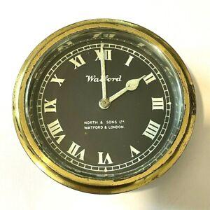 Vintage Watford North & Sons Clock, Rolls Royce Bentley Lagonda Alvis Riley Car