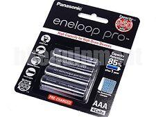 Panasonic eneloop XX PRO Rechargeable 950 mAh AAA 1.2v NiMH Battery x4