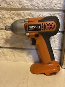 Ridgid R82320 14.4V Cordless Impact Drill Driver Tested And Works