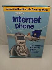 Tesco USB Internet Phone: Includes Installation Disc and all accessories