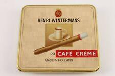 Old HENRI WINTERMANS Cafe Creme Holland Cigar Tin Case