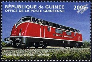Deutsche Bundesbahn (DB) Krauss-Maffei Class V200 (220) Diesel Train Stamp #1