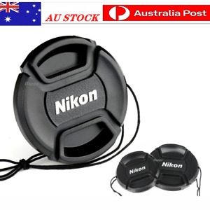Nikon Lens Cap 49, 52, 55, 58, 62, 67, 72, 77, 82mm For Replacement.
