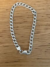 STERLING SILVER BRACELET WITH LOBSTER CLASP