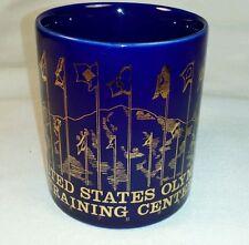 United States Olympic Training Center Gold Print Coffee Mug