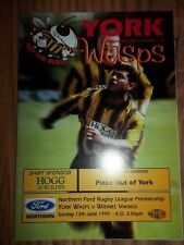 YORK v WIDNES  13/06/99  EXCELLENT