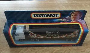 Matchbox Convoy CY24 DAF BOX Car Bassetts Liquiorice Allsorts - Free UK Postage