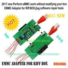 Perform eMMC work without modifying your box EMMC Adapter for Riff BOX jtag
