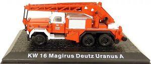Fire Brigade KW16 Magirus Deutz Uranus A Atlas 1:72 U ' P Μ