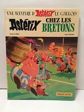 1966 Asterix Chez Les Bretons Hardcover French Graphic Comic Novel