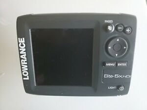 LOWRANCE  ELITE 5X HDI including Power Cable and Transducer