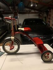 Vintage Retro Radio Flyer Red Tricycle Steel Frame Model 33 Free Shipping