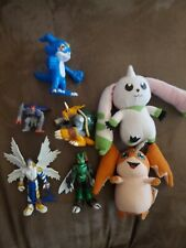 Digimon Figure And Plush Lot