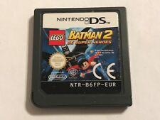 NINTENDO DS DSL DSi GAME LEGO BATMAN 2 DC SUPER HEROES