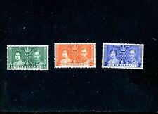 LOT 81988 MINT H 115 - 117 ST HELENA KGV1 1937 CORONATION BRITISH COMMONWEALTH
