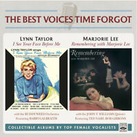 Lynn Taylor & Marjorie Lee - I See Your Face Before Me + Remembering 2 LP On 1