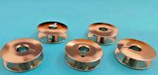 5 Bernina Nähmaschinen Spulen Metall für 950,940,117,217,540,640,740,750,840,850