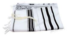 Traditional Jewish 60/170cm Kosher Tallit Talit Talis Bar Mitzva Prayer Shawl