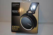 Sony MDR-XB600 Headband Headphones - Black/Gold