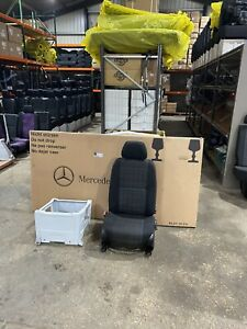 Genuine Mercedes sprinter Single Passenger Seat & base fit 2006-2018