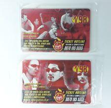 2x Virgin V98 Phonecards New & Sealed No 7 Fun Lovin Criminals & No 5 Catatonia