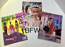 Barbie Bazaar Magazines: Lot Of 3 - September , January & March 1995 Vgc