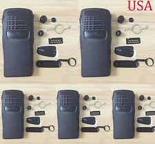 5x Brand new front case Housing cover for motorola GP340 portable Radio
