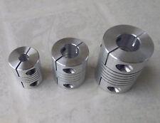"""3pcs 5 MM x 6.35 MM Flex Coupler 3/16"""" x 1/4"""" Shaft Coupling 20D25L"""