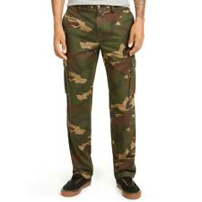 Club Room Mens Camo Twill Classic Fit Cargo Pants BHFO 8963