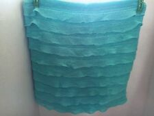 Nwt Pottery Barn Teen Ruffle Pillow Cover Teal